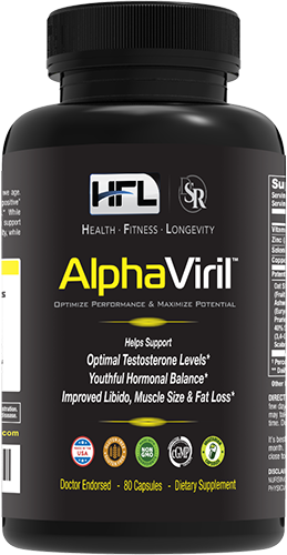 AlphaViril Increases Testosterone Male Hormone n Boost Libido n Sex Drive