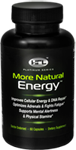 More Natural Energy Energy bottle
