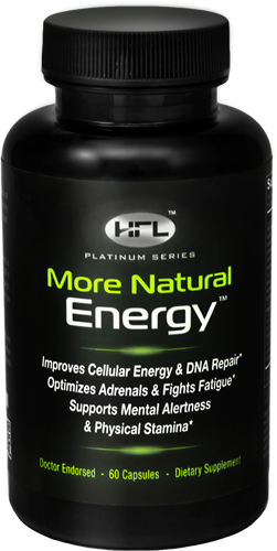 "More Natural Energy Bottle - ""Get Energized & Feel Younger"""